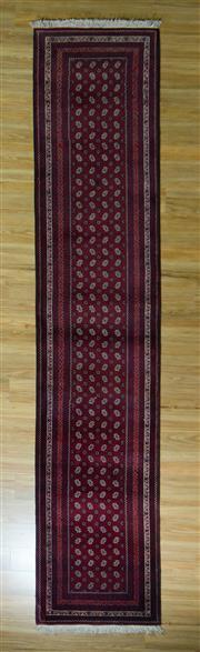 Sale 8672C - Lot 18 - Afghan Mori Gul 416cm x 86cm