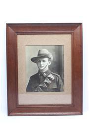 Sale 8733 - Lot 101 - WWI Light Horseman c1915