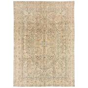 Sale 8761C - Lot 1 - A Vintage Persian Mashad Carpet, Hand-knotted Wool,323x230cm, RRP $8,500