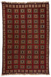 Sale 8780C - Lot 256 - A Persian Sumak Hand Woven Wool, 270 x 190cm