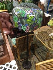 Sale 8795 - Lot 1099 - Leadlight Floor Lamp