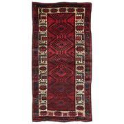 Sale 8860C - Lot 34 - A Persian Nomadic Hamadan Rug, in Handspun Wool 282x148cm
