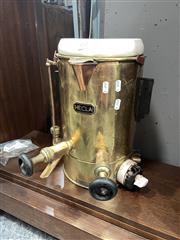 Sale 8896 - Lot 1070 - Vintage Brass Hecla Urn