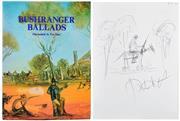 Sale 8392A - Lot 6 - SMITH, Sydney Ure: Bushranger Ballads; illustrated by Pro Hart