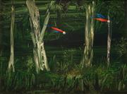 Sale 8519 - Lot 556 - Albert Tucker (1914 - 199) - Parrots Through the Trees, 1964 61 x 81.5cm