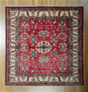 Sale 8657C - Lot 47 - Afghan Super Kazak 146cm x 144cm