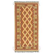 Sale 8860C - Lot 35 - An Afghan Nomadic Maymana Kelim, in Handspun Wool 200x100 cm