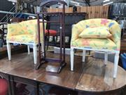 Sale 8868 - Lot 1523 - Pair of Floral Tub Chairs