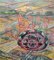 Sale 8901 - Lot 583 - Victor Majzner (1945 - ) - Bloodlines, 1991 183 x 197 cm