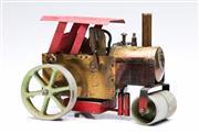 Sale 9090 - Lot 1 - Vintage Toy Steam Roller (L23cm)