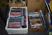 Sale 8509 - Lot 2331 - 2 Boxes of DVDs