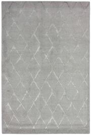 Sale 8651C - Lot 28 - Colorscope Collection; NZ Wool and Pure Silk - Silver/Grey Modern Geo Rug, Origin: China, Size: 160 x 230cm, RRP: $1899
