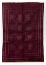 Sale 8760C - Lot 33 - An Afghan Turkaman Design 100% Wool Pile, 345 x 240cm