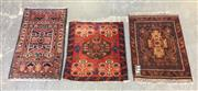 Sale 8822 - Lot 1757 - Persian Door Mats (3)