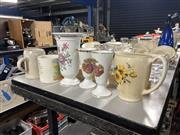 Sale 8894 - Lot 321 - Royal Winton Trumpet Vase (H20cm)Together with Other ceramics Incl. Limoges