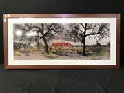 Sale 8953 - Lot 2042 - A Contemporary Photograph of Uluru, 45 x 97cm (frame)