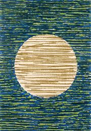 Sale 8980A - Lot 5061 - Una Foster (1912 - 1996) - Wall Hanging - Full Moon 1980 63.5 x 44 cm (frame: 83 x 63 x 3 cm)