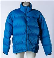 Sale 9003F - Lot 96 - A Kathmandu Puffer Jacket, in Royal Blue Insulated with Goose Down, size L