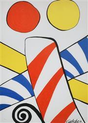 Sale 9072A - Lot 5012 - After Alexander Calder - Untitled 73 x 51 cm (frame: 113 x 93 cm)