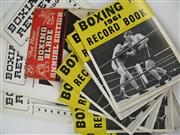 Sale 8450S - Lot 701 - Boxing Blade 1939 - vol. XX of the Boxing Blade Annual; t/w 1961-62 Boxing Record Book (multiples) & Harry Peggs Boxiana Review nos...