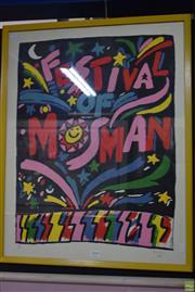 Sale 8595 - Lot 2063 - Ken Done Poster - Festival Mosman 1983,