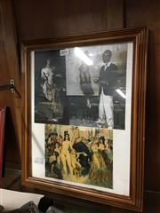 Sale 8674 - Lot 2096 - 2 Works: Norman Lindsay At Work & Finished Prints