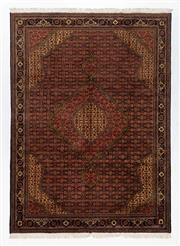 Sale 8760C - Lot 34 - An Afghan Tabriz Design Wool Pile, 240 x 335cm