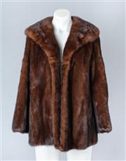 Sale 8828F - Lot 12 - A Ranch Mink Jacket By Biber Furs, Size Medium