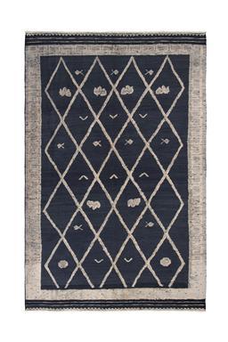 Sale 9149C - Lot 41 - AFGHAN BOHEMIA RUG, 200x310cm