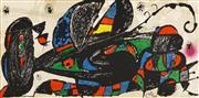 Sale 8592A - Lot 5073 - Joan Miró (1893 - 1983) - Iran, 1974 20 x 40cm