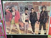 Sale 8421 - Lot 1036 - Vintage and Original Clash Pictorial Promotional Poster (61.5cm x 48cm)