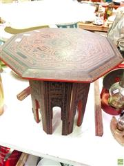 Sale 8582 - Lot 2190 - Oriental Side Table