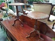 Sale 8601 - Lot 1042 - Two Timber Wine Tables