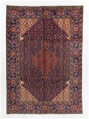 Sale 8740C - Lot 72 - A Persian Tabriz Wool And Silk Inlaid Pile, 295 x 210cm