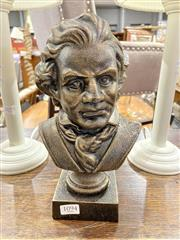 Sale 8876 - Lot 1094 - Cast Metal Figure of Ludwig Van Beethoven