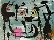 Sale 9047A - Lot 5035 - Joan Miro (1893 - 1983 ) - Untitled 34.5 x 47 cm (frame: 62 x 45 cm)
