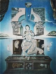 Sale 9032A - Lot 5044 - Salvador Dali (1904 - 1989) - Madonna of Port Lligat 58 x 43.5 cm (frame: 100 x 78 x 5 cm)