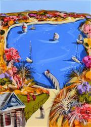 Sale 8301A - Lot 5 - Adam Bogusz (1947 - ) - Safe Harbour 42 x 29.5cm