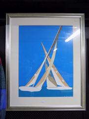 Sale 8349A - Lot 142 - Costa (XX - ) - Yachts, 1986 77 x 58.5cm