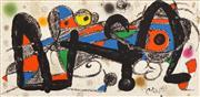 Sale 8408 - Lot 589 - Joan Miró (1893 - 1983) - Portugal, 1974 20 x 40cm
