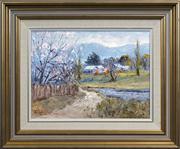 Sale 8433 - Lot 2007 - John Colin Angus (1907 - 2002) - Spring Morning, 1985 29 x 39cm