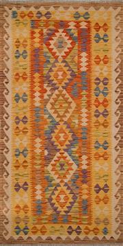 Sale 8455C - Lot 38 - Afghan Chobi Kilim 193cm x 98cm