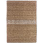 Sale 8860C - Lot 39 - An India Nomadic Natural Carpet in Sand I in Handspun Wool , 160x230cm