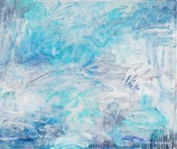 Sale 9042A - Lot 5096 - Cyndi Rogoff - Blue Haven 102 x 122 cm
