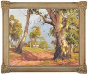 Sale 8344 - Lot 504 - Dixon Copes (1914 - 2002) - In Burrangurrang Valley 45 x 55cm