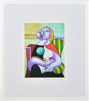 Sale 8349A - Lot 51 - Pablo Picasso (1881 - 1973) - Reading, 1932 34.5 x 25.5cm