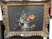 Sale 8437 - Lot 2026 - Peter Fuller (XX) - Still Life - Fruit 29.5 x 39.5cm