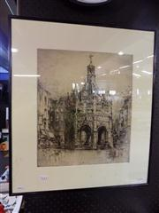 Sale 8441T - Lot 2059 - Artist Unknown (XIX - XX) - London Scene 40 x 34cm