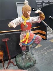 Sale 8700 - Lot 1001 - Chinese Fibreglass Monkey Figure