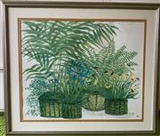 Sale 8510A - Lot 85 - Printemps, A floral print by Eva Peller, 60 x 76 cm